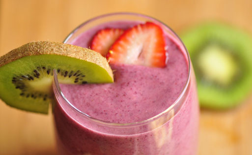 Are Homemade Fruit Smoothies Healthy  A frozen fruit smoothie By Ruba
