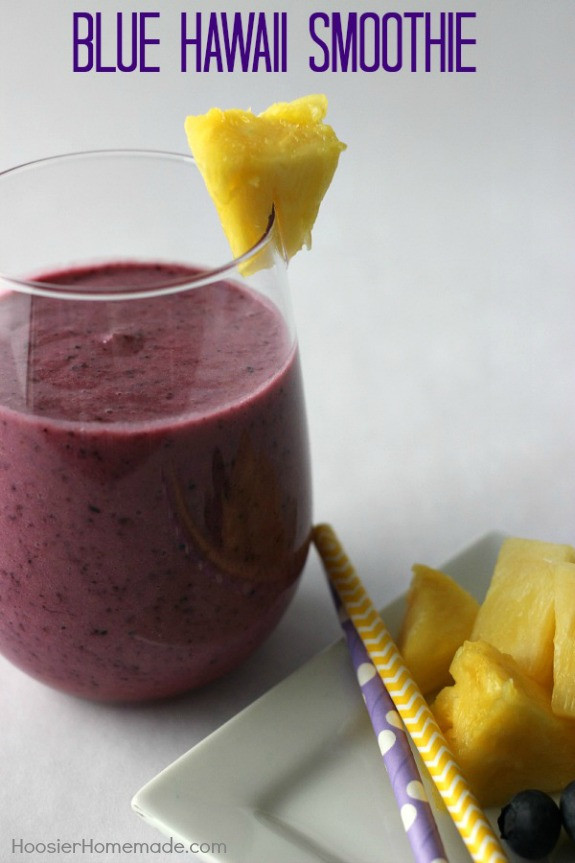 Are Homemade Fruit Smoothies Healthy  Easy Fruit Smoothie Recipe Hoosier Homemade