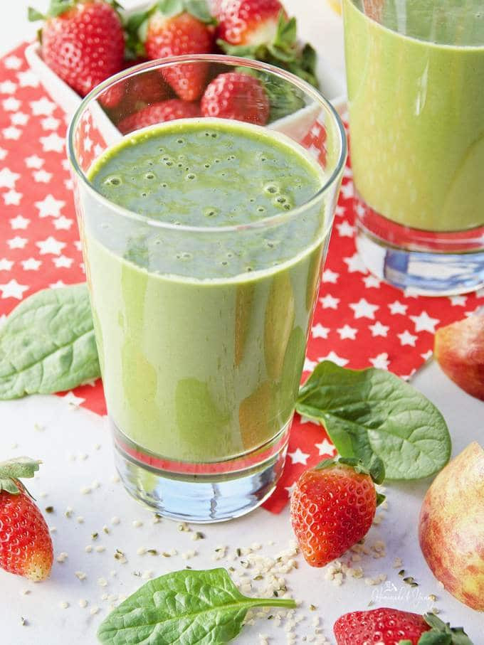 Are Homemade Smoothies Healthy  Healthy Hemp Heart Clean Green Smoothie