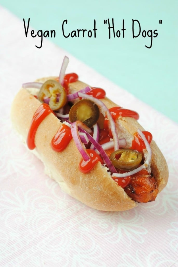Are Hot Dogs Healthy  Vegan Carrot Hot Dogs Hungry Healthy Happy