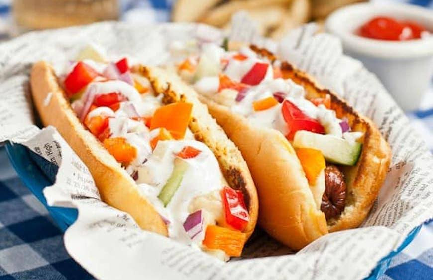 Are Hot Dogs Healthy  Fun and healthy hot dog toppings