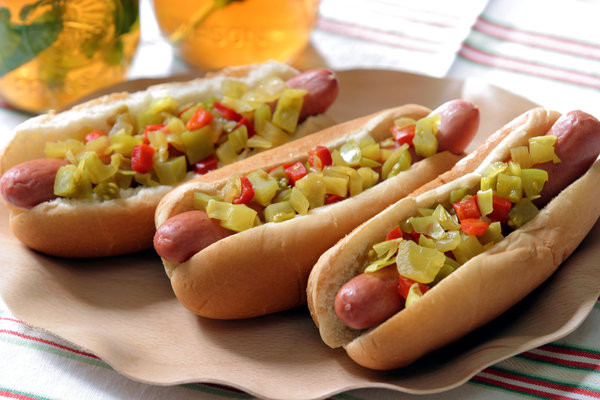 Are Hot Dogs Unhealthy  Hot Dog Toppings and Condiments Recipes from NYT Cooking
