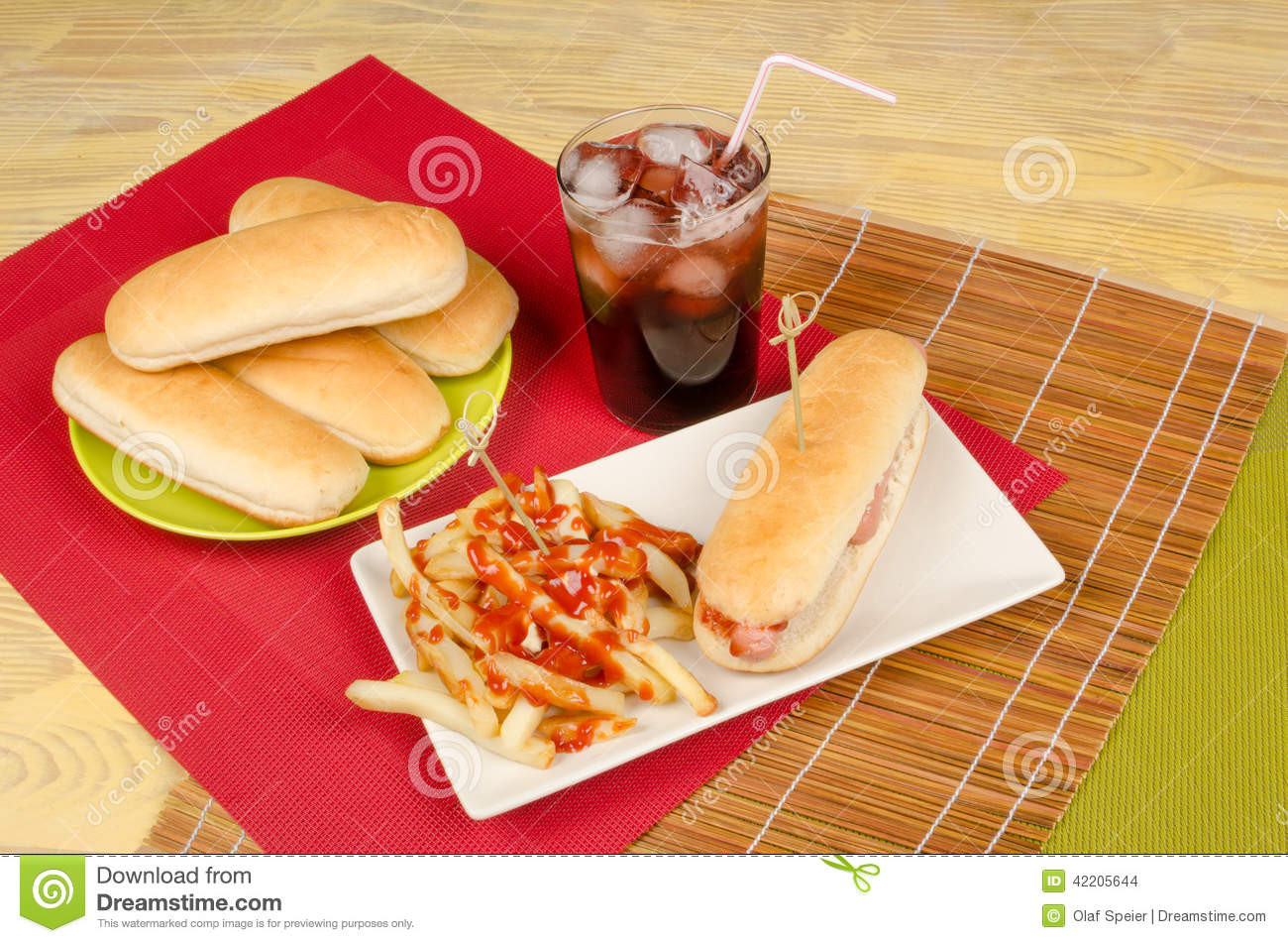 Are Hot Dogs Unhealthy  Unhealthy Hot Dog Stock Image
