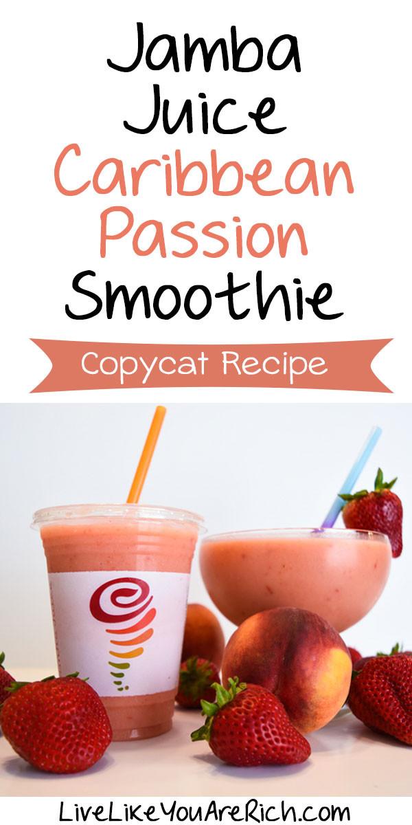 Are Jamba Juice Smoothies Healthy  jamba juice smoothies recipes
