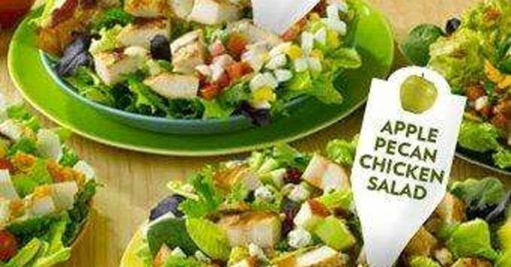 Are Mcdonald'S Salads Healthy  grilled chicken caesar salad fast food