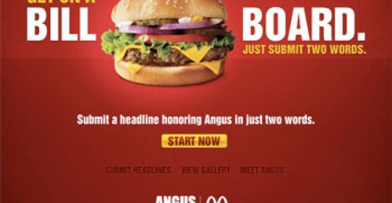 Are Mcdonald'S Salads Healthy  McDonald s lets customers write billboard slogans