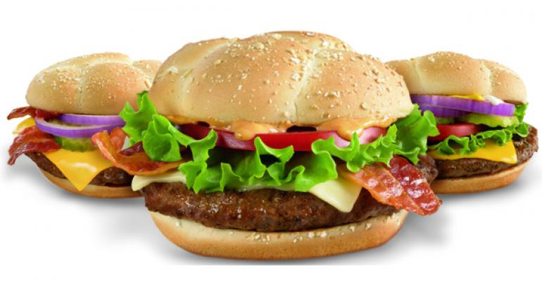 Are Mcdonald'S Salads Healthy  McDonald s tests variations on Quarter Pounder McMuffin
