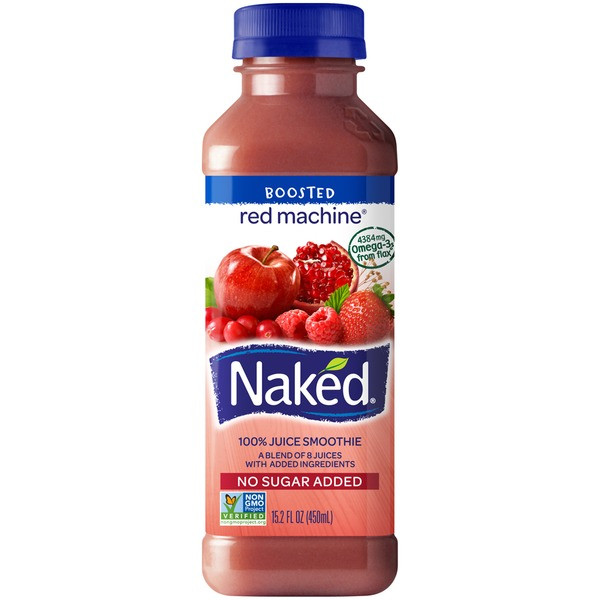 Are Naked Smoothies Healthy  Naked Juice Red Machine Shelf Stable Juice 15 2 fl oz