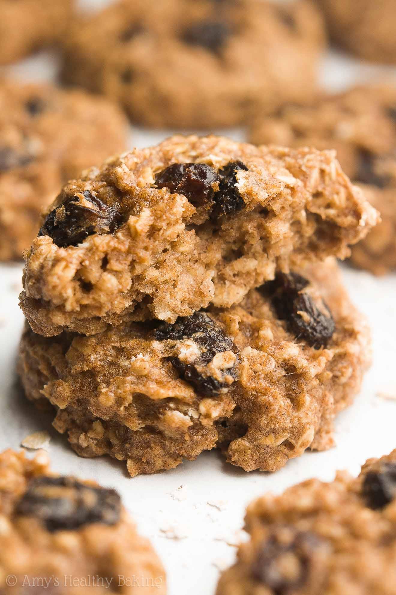 Are Oatmeal Raisin Cookies Healthy  heart healthy oatmeal raisin cookies