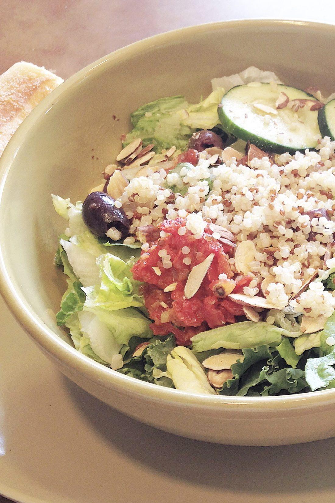 Are Panera Salads Healthy  Panera Bread Mediterranean Quinoa Salad Spoons and Stilettos