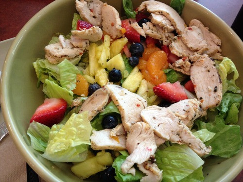 Are Panera Salads Healthy  Healthy Chain Reaction Panera Bread's Strawberry