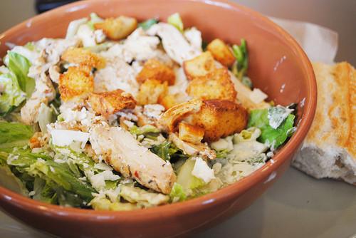 Are Panera Salads Healthy  Lunch Nick's Laguna vs Panera Bread Salads