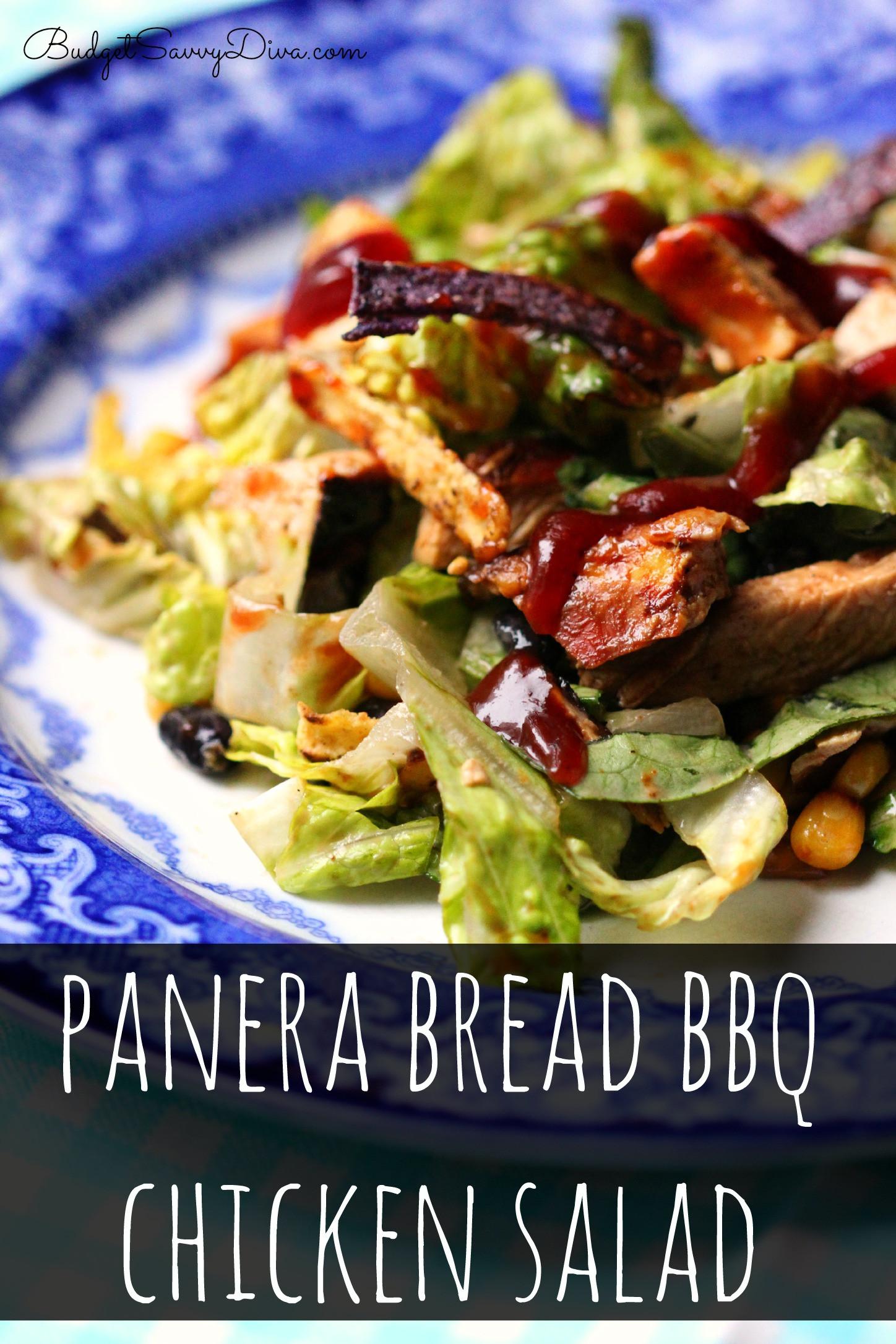 Are Panera Salads Healthy  Panera Bread BBQ Chicken Salad Recipe