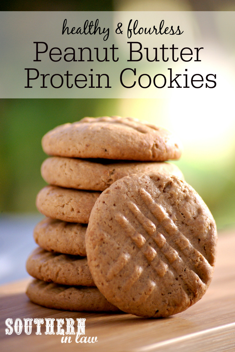 Are Peanut Butter Cookies Healthy  Southern In Law Recipe Healthy Peanut Butter Protein Cookies