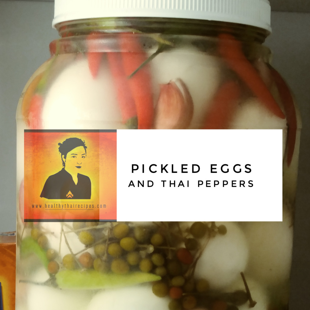 Are Pickled Eggs Healthy  Pickled Eggs with Thai Peppers A Homemade Gift Idea