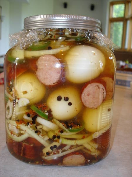 Are Pickled Eggs Healthy  Cheryl s Tasty Home Cooking Pickled Egg Recipes yummy