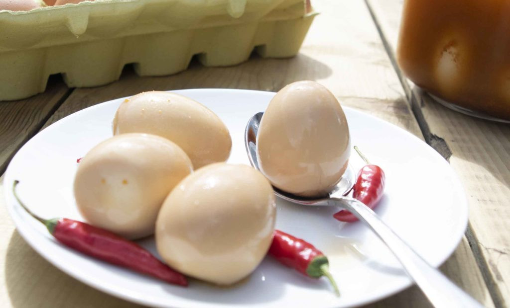 Are Pickled Eggs Healthy  Cajun Pickled Eggs PepperScale