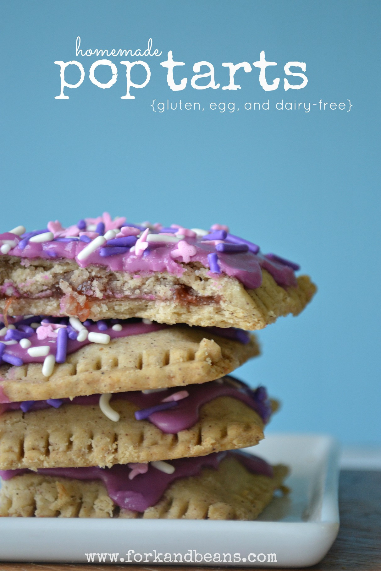 Are Pop Tarts Healthy for Breakfast the top 20 Ideas About Homemade Gluten Free Poptarts fork and Beans