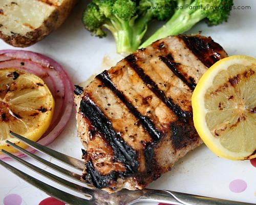 Are Pork Chops Healthy  Honey Lemon Pork Chops with Healthy Salt Alternative