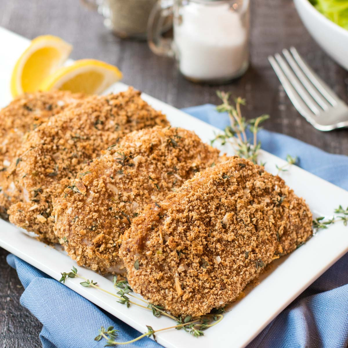 Are Pork Chops Healthy For You  Healthy Breaded Pork Chops