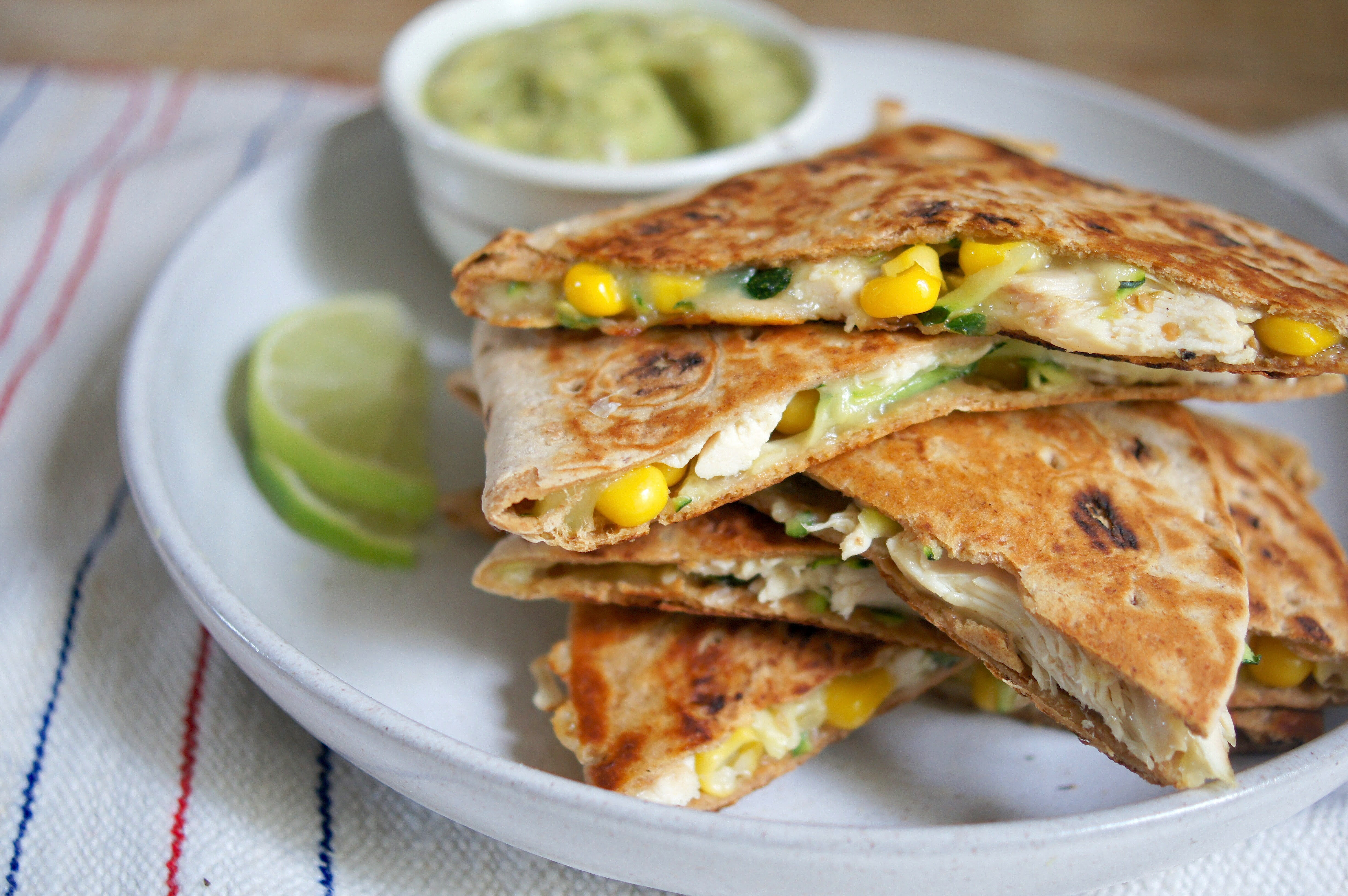 Are Quesadillas Healthy  Healthy Chicken Quesadillas are Loaded with Ve ables