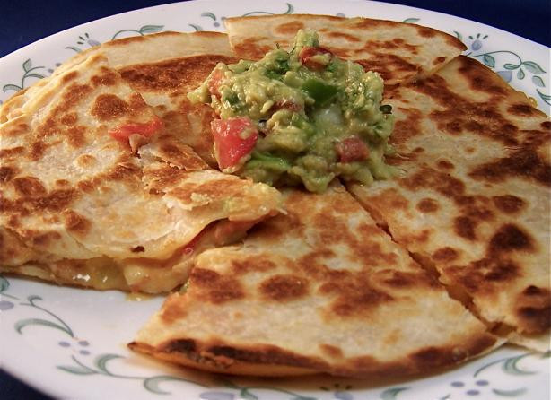 Are Quesadillas Healthy  Healthy Chicken Quesadillas Recipe Food