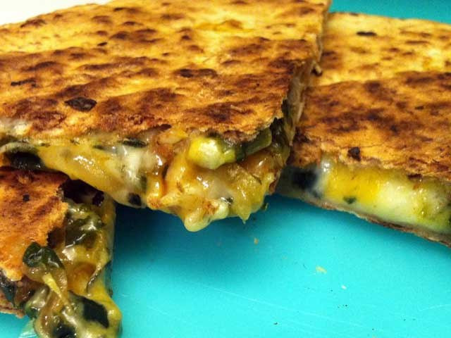 Are Quesadillas Healthy  A healthy idea Veggie quesadillas
