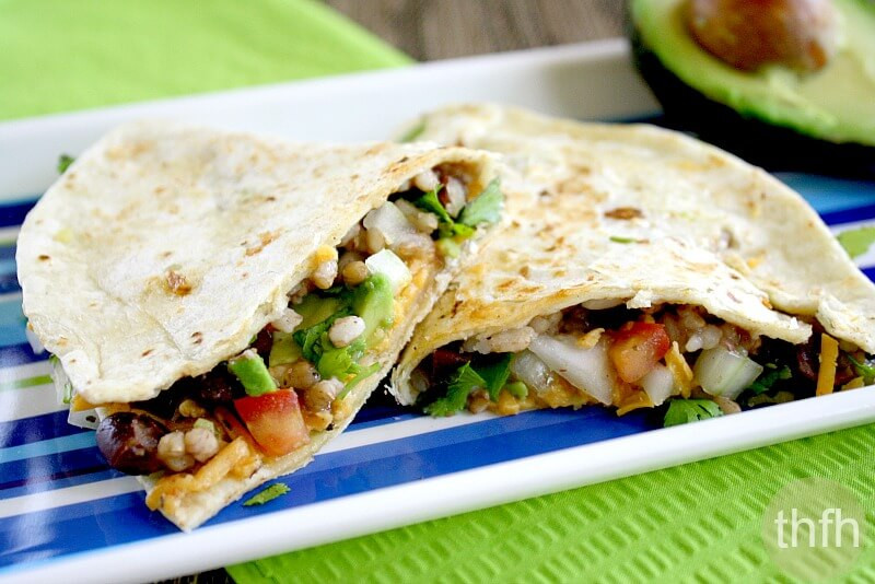 Are Quesadillas Healthy  Vegan Black Bean and Cilantro Quesadillas