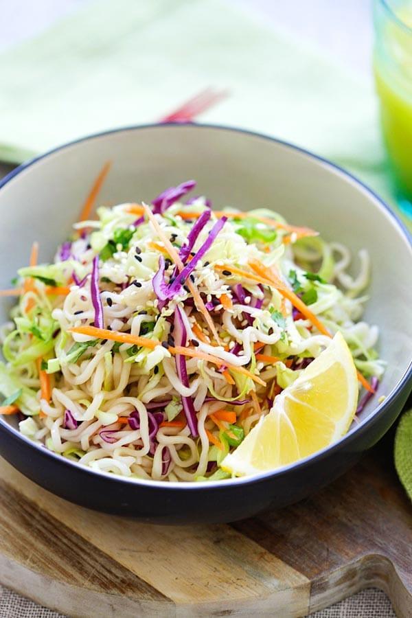 Are Ramen Noodles Healthy  Ramen Noodle Salad Recipe