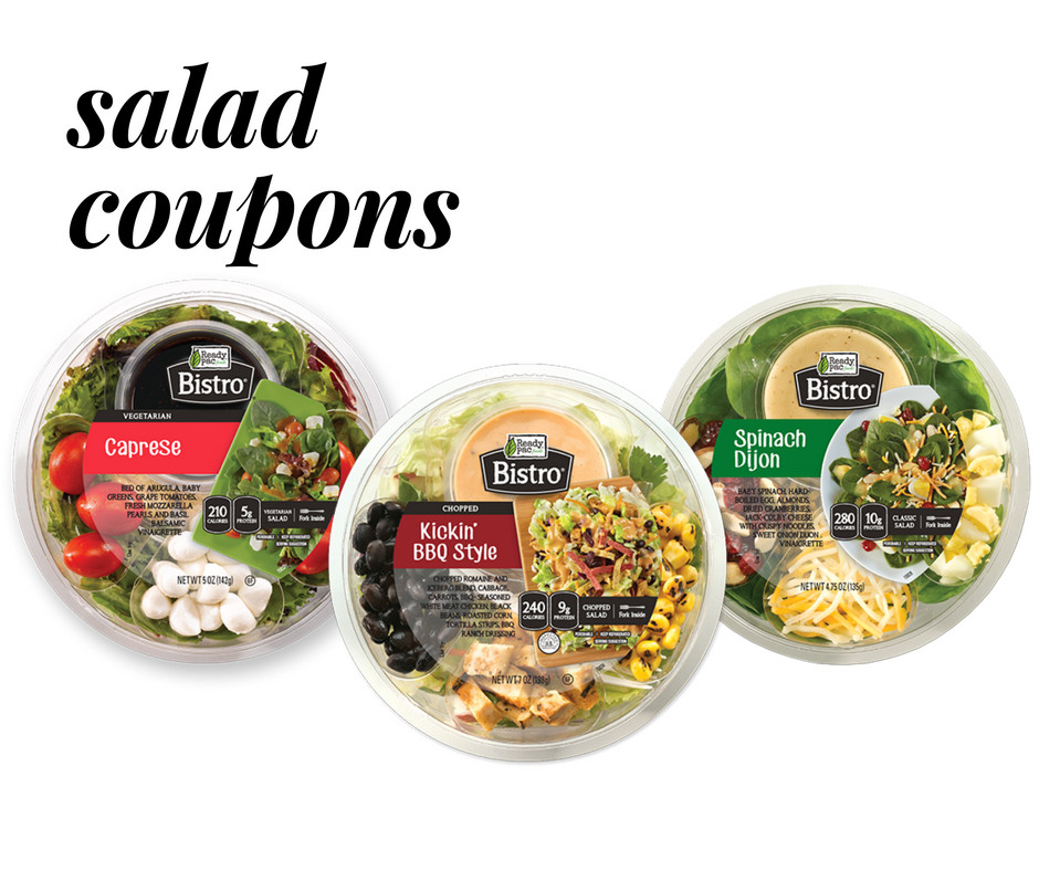 Are Ready Pac Bistro Salads Healthy  Ready Pac Bistro Salads Coupon Sale Starting