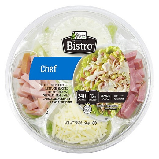 Are Ready Pac Bistro Salads Healthy  Ready Pac Foods Bistro Chef Salad Bowl 7 75oz Tar