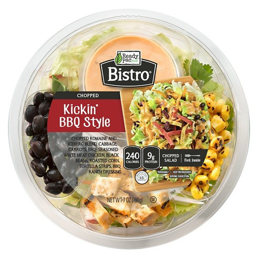 Are Ready Pac Bistro Salads Healthy  Ready Pac Bistro Kickin BBQ Chopped Salad Bowl 7 oz Tar