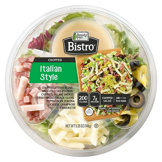 Are Ready Pac Bistro Salads Healthy  Ready Pac Foods Bistro Italian Style Salad Bowl 5 25oz
