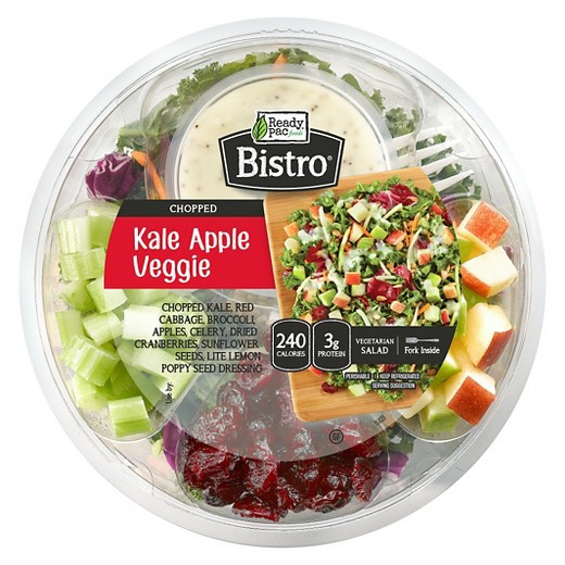 Are Ready Pac Bistro Salads Healthy  Ready Pac Bistro Kale Apple Chopped Salad Bowl 5 5 oz Tar