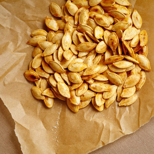 Are Roasted Pumpkin Seeds Healthy  Cajun Roasted Pumpkin Seeds Get Healthy U
