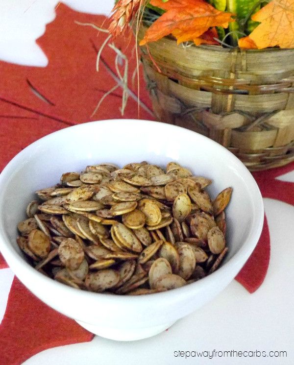 Are Roasted Pumpkin Seeds Healthy  Roasted Pumpkin Seeds Step Away From The Carbs
