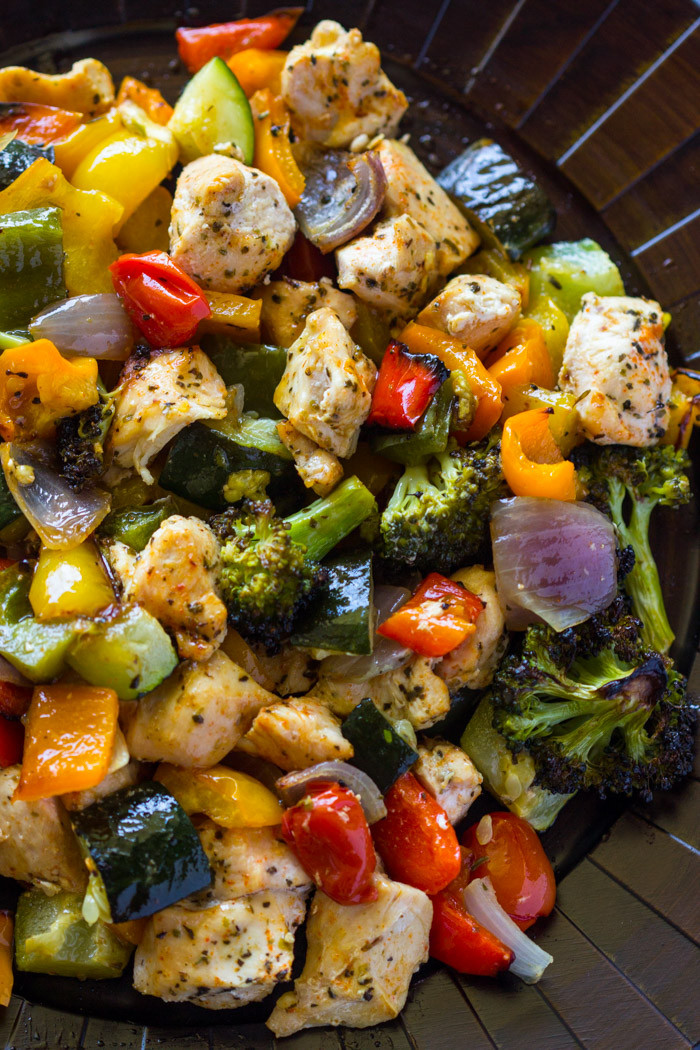 Are Roasted Vegetables Healthy  15 Minute Healthy Roasted Chicken and Veggies Video