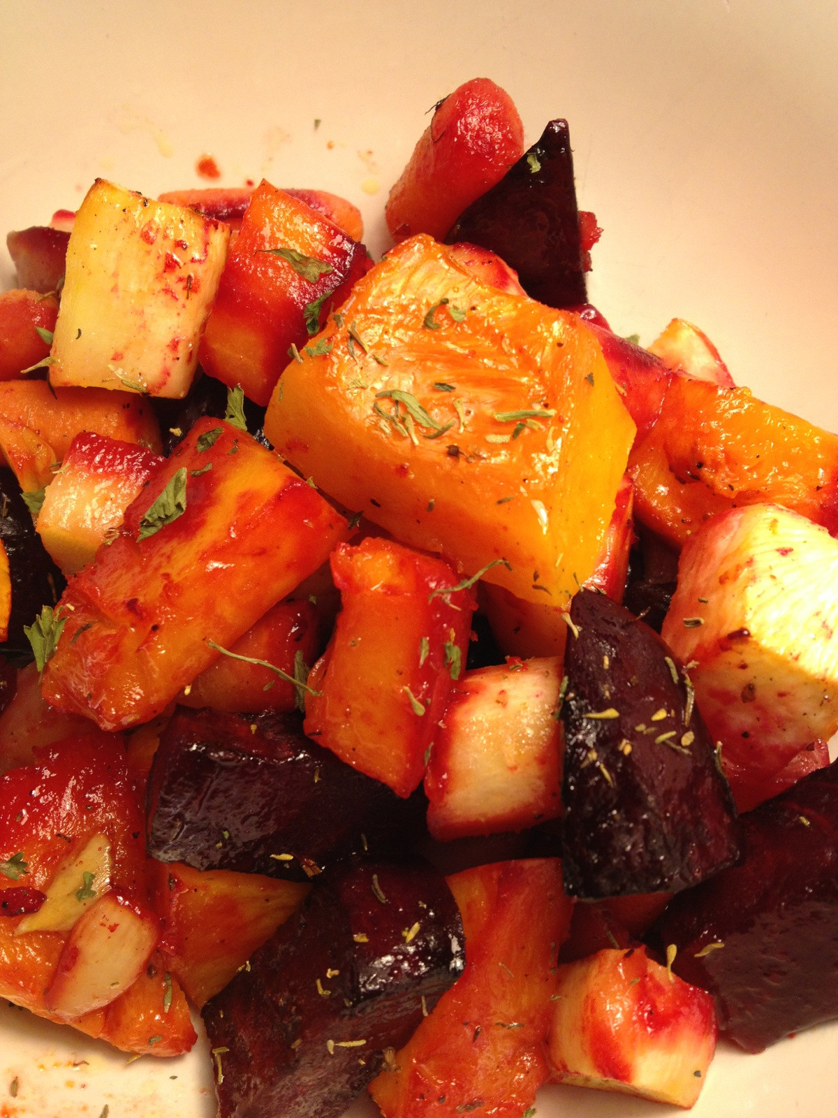 Are Roasted Vegetables Healthy  A Healthy Makeover Roasted Root Ve ables