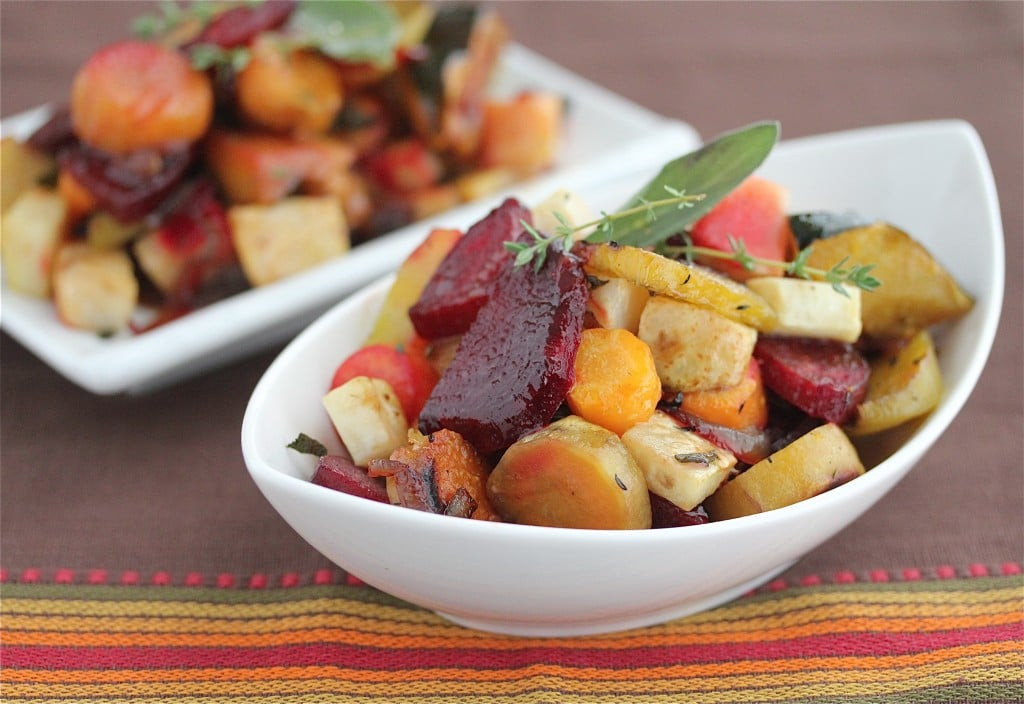 Are Roasted Vegetables Healthy  Oven Roasted Ve ables with Sage and Thyme Recipe