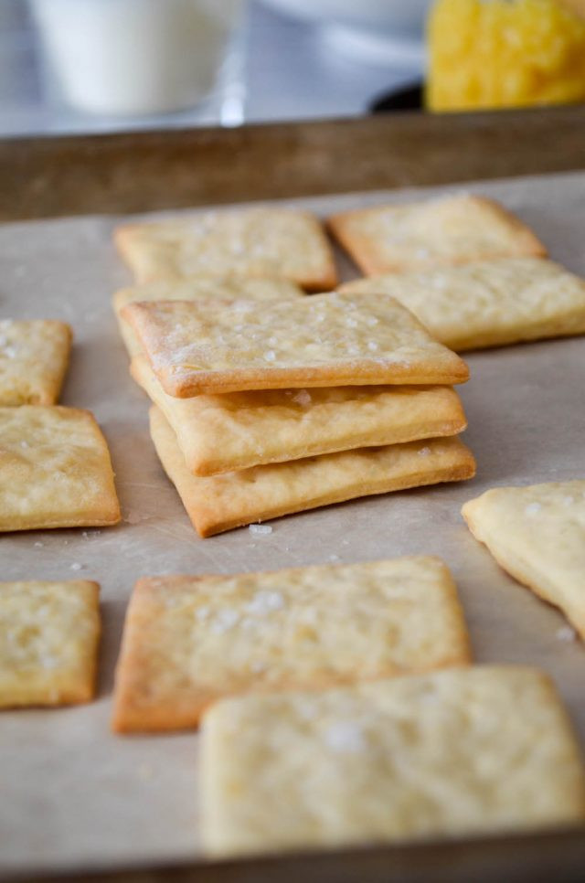 Are Saltine Crackers Healthy  Homemade Saltine Crackers Recipe