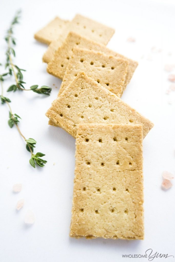 Are Saltine Crackers Healthy  3 Ingre nt Paleo Crackers Low Carb Gluten free