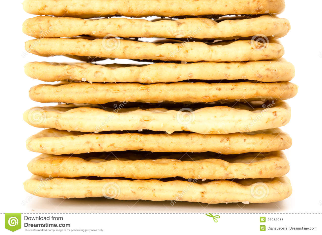 Are Saltine Crackers Healthy  Crackers Stock Image