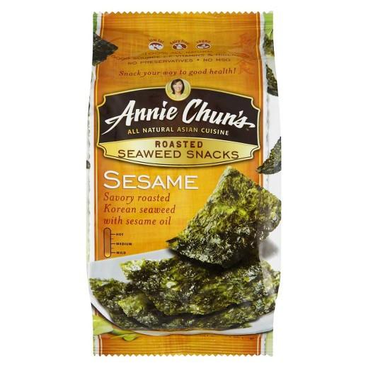 Are Seaweed Snacks Healthy  Annie Chun s Roasted Sesame Seaweed Snacks 35 oz Tar
