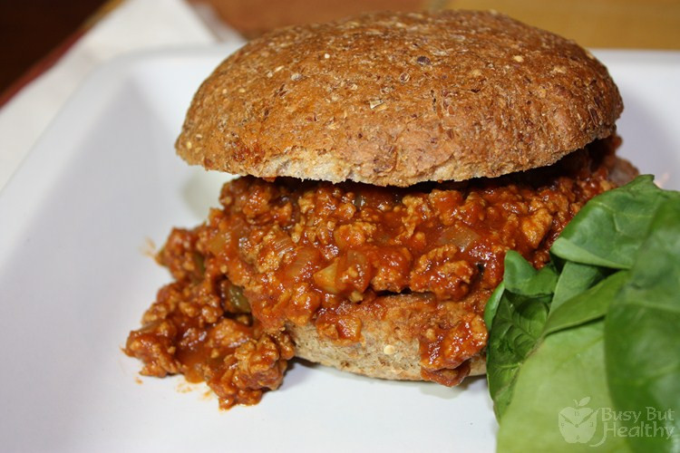 Are Sloppy Joes Healthy  Turkey Sloppy Joes Busy But Healthy
