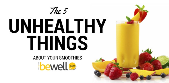 Are Smoothies Unhealthy  5 Things That Make Your Smoothies Unhealthy