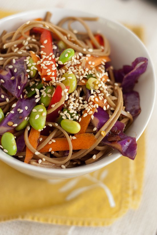 Are Soba Noodles Healthy  Soba Noodles with Ve ables Cookie and Kate
