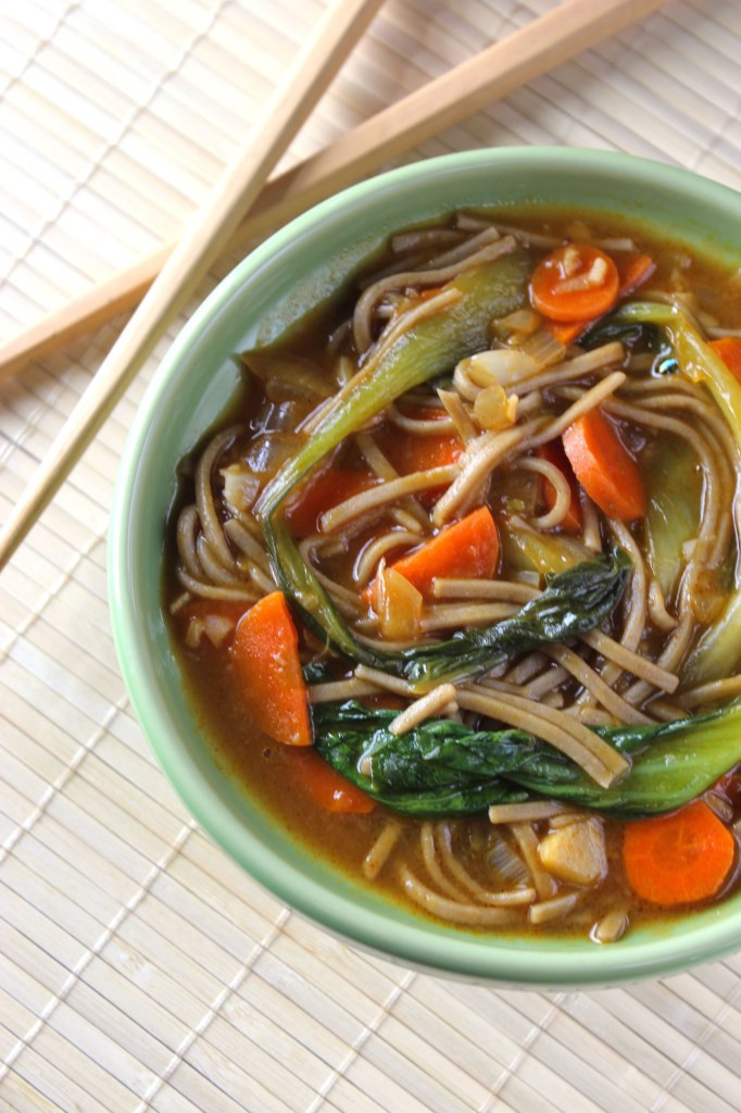 Are Soba Noodles Healthy  Healthy Asian Soba Noodle Soup The Fitchen