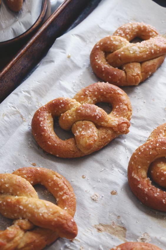 Are Soft Pretzels Healthy  Soft pretzels Pretzels and Soft pretzel recipes on Pinterest