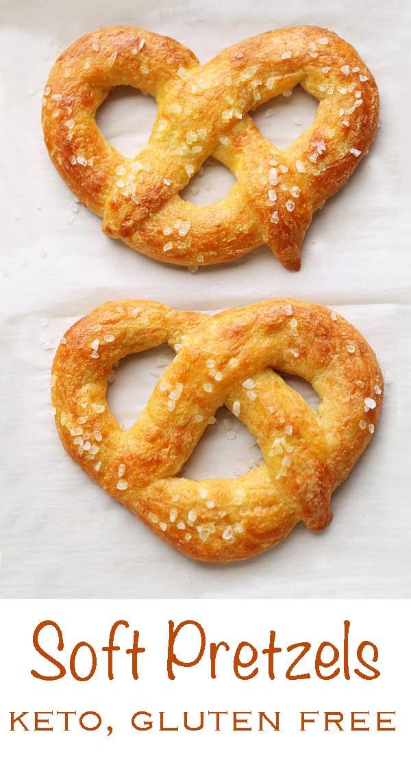 Are Soft Pretzels Healthy  Keto Soft Pretzels Almond Flour Recipe VIDEO