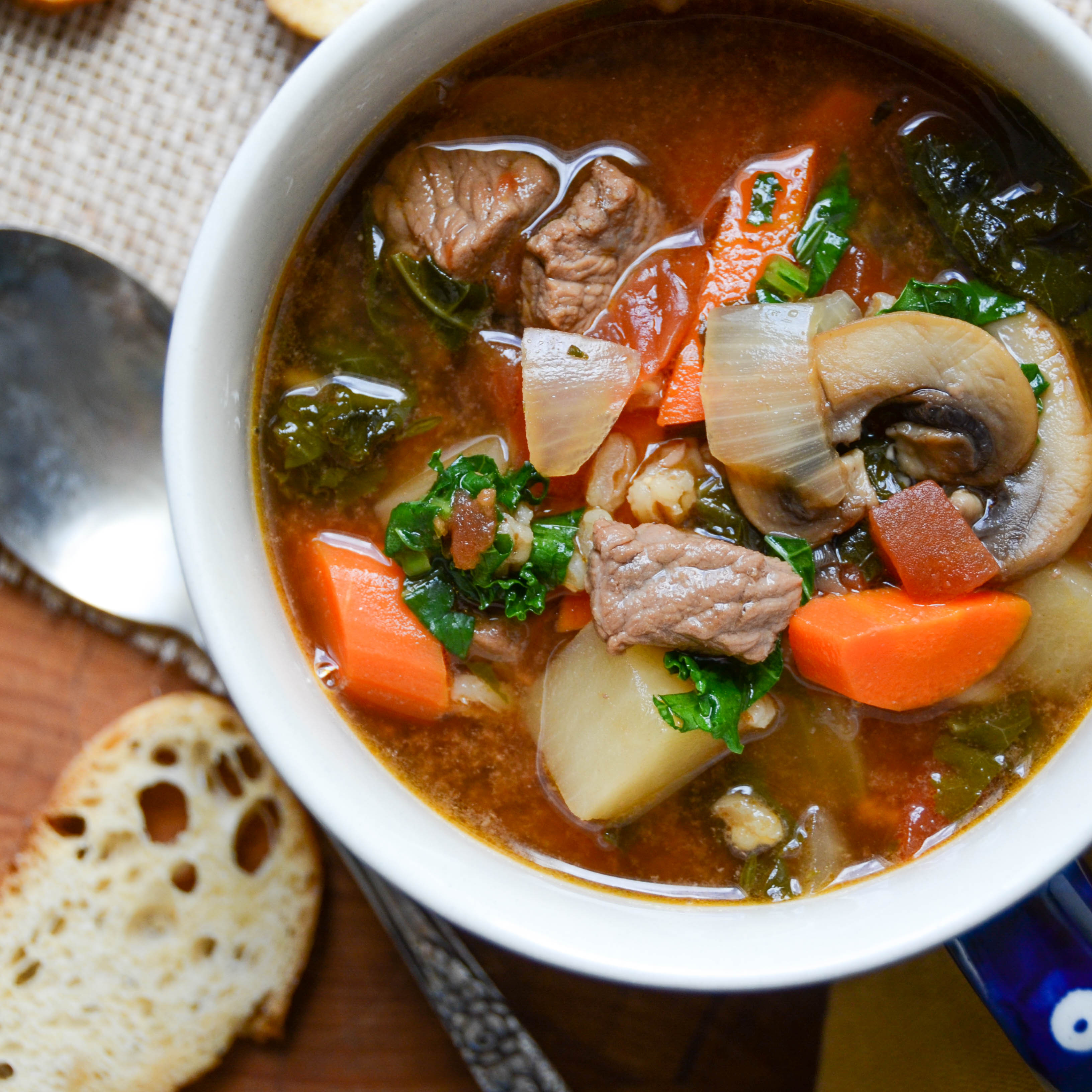 Are Soups Healthy  Healthy Ve able Beef Soup